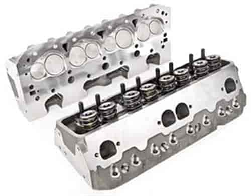 Brodix 1001009S - Brodix Track 1 and Track 1X Small Block Chevy Aluminum Cylinder Heads