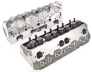 Brodix 1008109 - Brodix Track 1 and Track 1X Small Block Chevy Aluminum Cylinder Heads