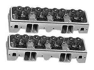 Brodix 1181002 - Brodix 18-Degree X Small Block Chevy Aluminum Heads