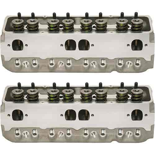 Brodix 1321002 - Brodix Dragon Slayer Series Small Block Chevy Aluminum Cylinder Heads