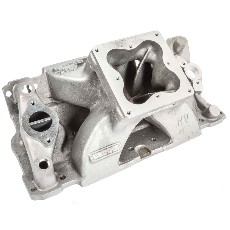 Brodix HV1201: HV 1201 Series Intake Manifold SBC | JEGS