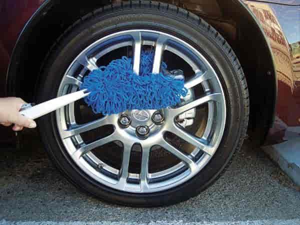 california car duster 96630 microfiber wheel duster ebay. Black Bedroom Furniture Sets. Home Design Ideas
