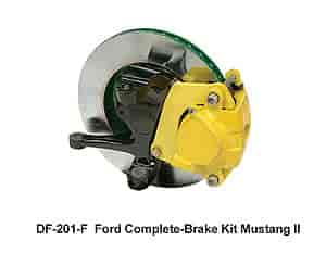 Heidts DF-201-F - Heidts Mustang II Disc Brake Conversion Kits