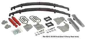 Heidts RA-102-C - Heidts Parallel Rear Leaf Kits