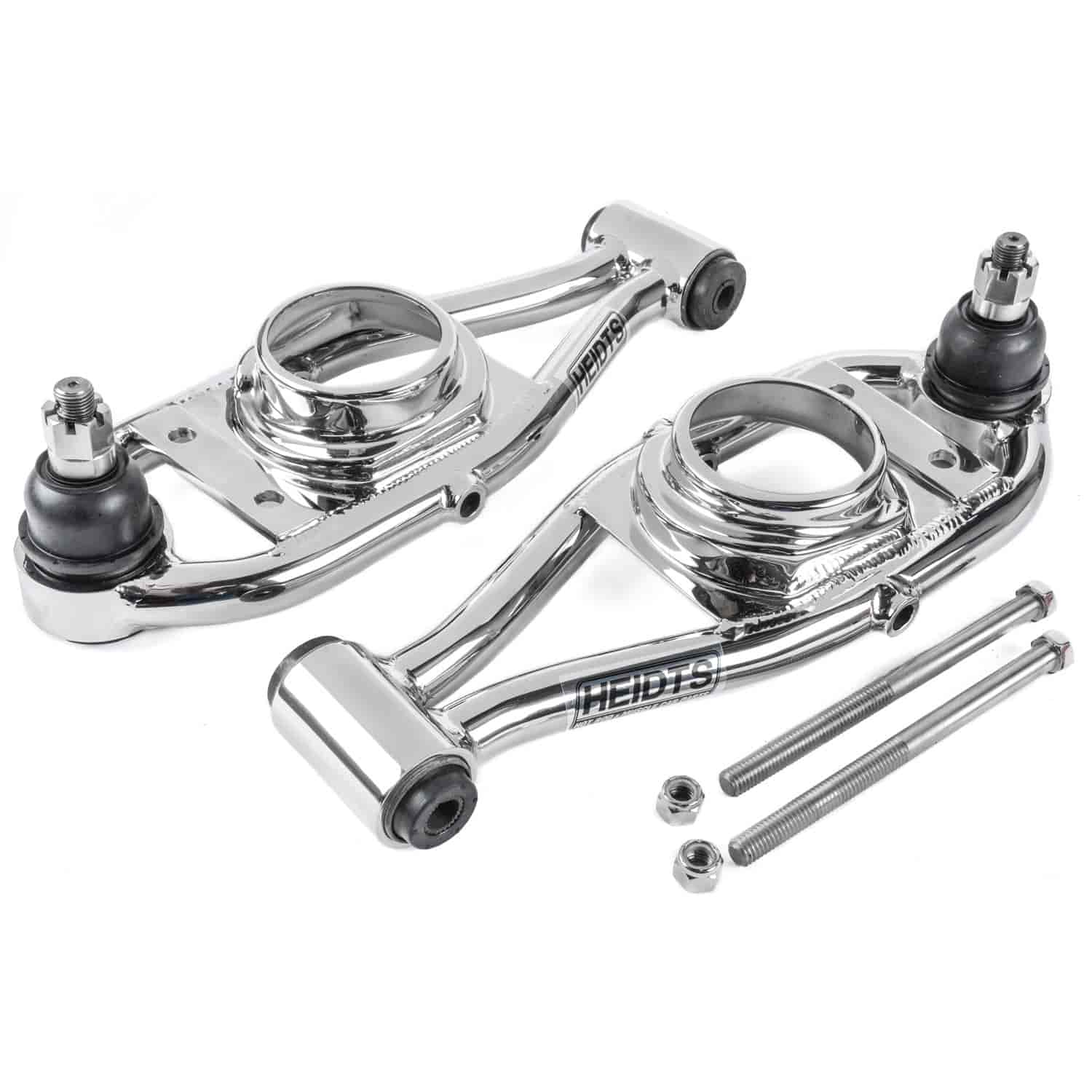 Heidts CA-102-SSM - Heidts Tubular Stainless Steel Upper and Lower Control Arms