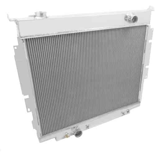 """2 Row 1/"""" Tubes Discount Champion Radiator for 1968-1979 Ford F-Series V8 Eng"""