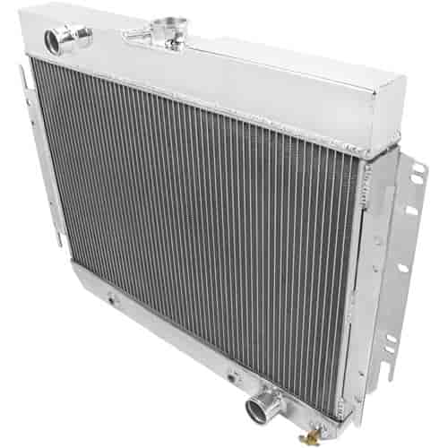 Aluminum Radiator For Chevrolet Bel Air Chevelle Impala El Camino Caprice 3 Row