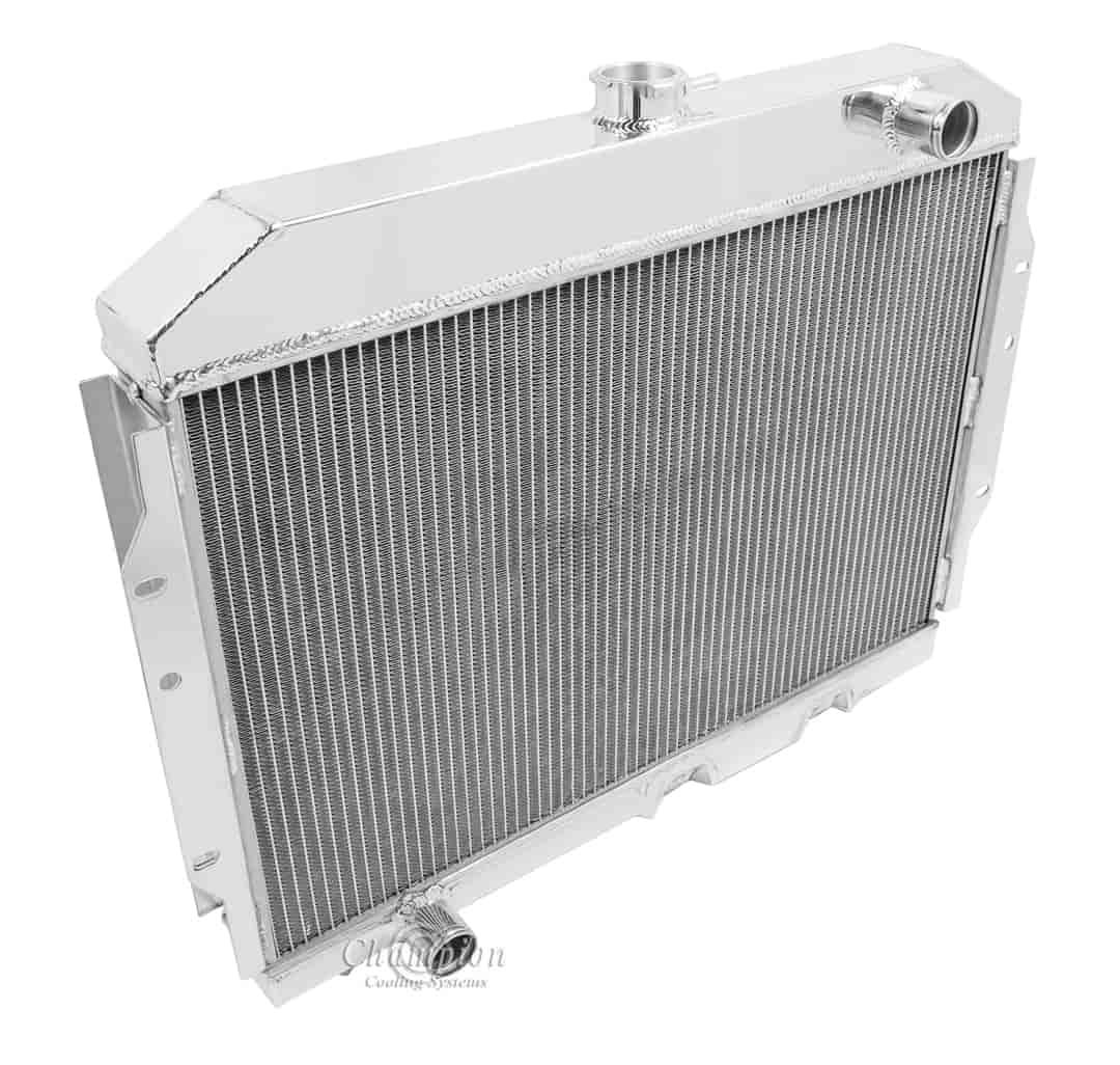 champion cooling systems cc407 all aluminum radiator 1958 1974 amc rh jegs com Auto Starter Wiring Diagram Blue and Brown Wires Wiring-Diagram Champion
