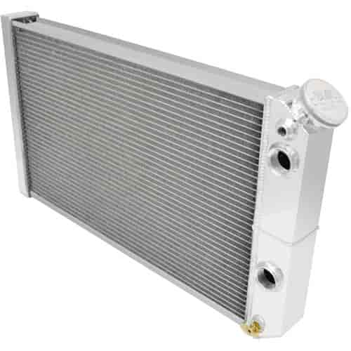 Champion Cooling Systems LS Conversion/Dual Pass Radiator 1984-90 Corvette/S-10 V8 Swap