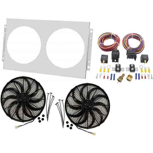 Champion Cooling Systems Shroud and Fan Kit