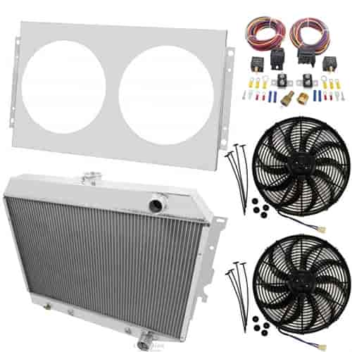 Champion Cooling Systems Aluminum Radiator System
