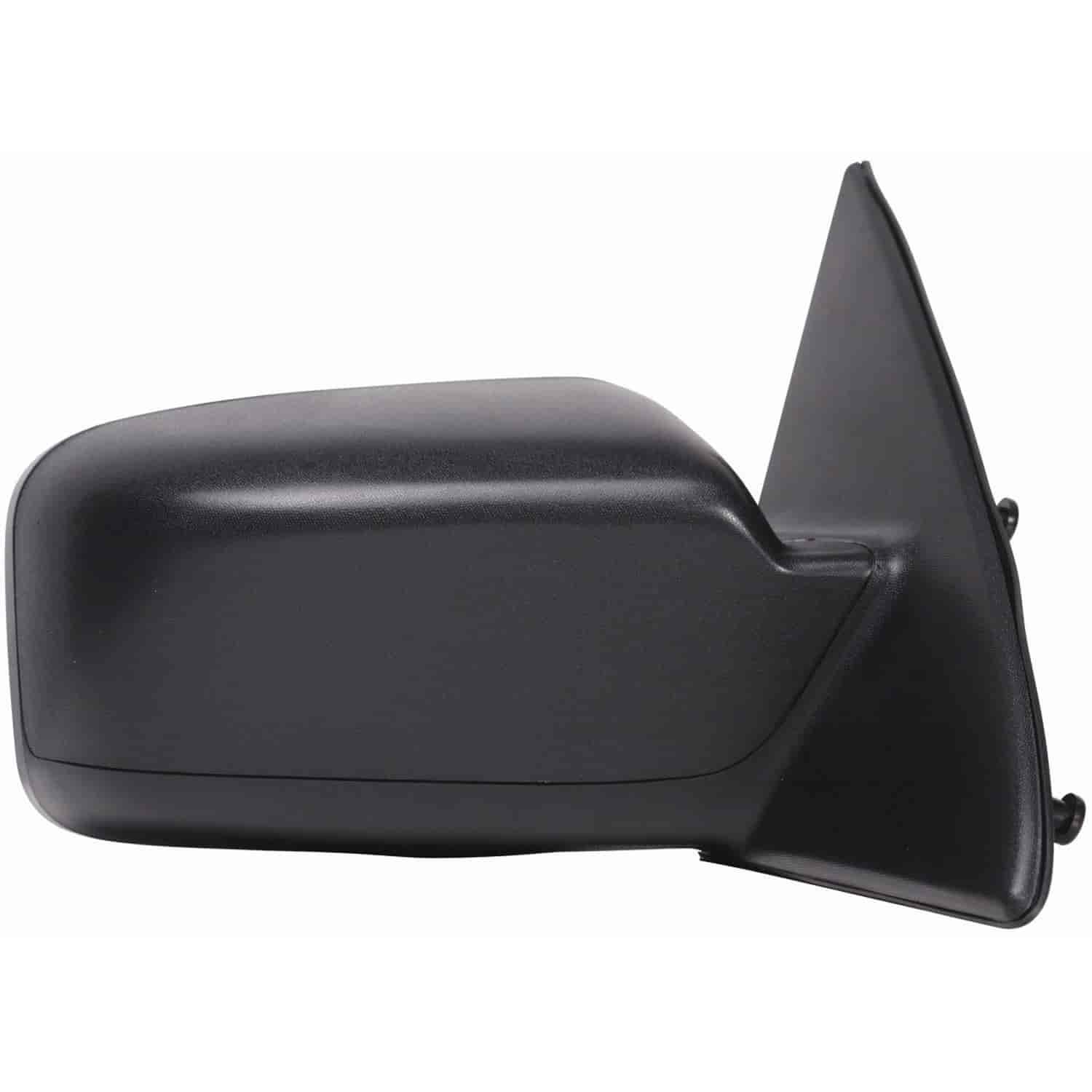 06-10 Fusion Power Heat Puddle Lamp Black Rear View Mirror Right Passenger Side