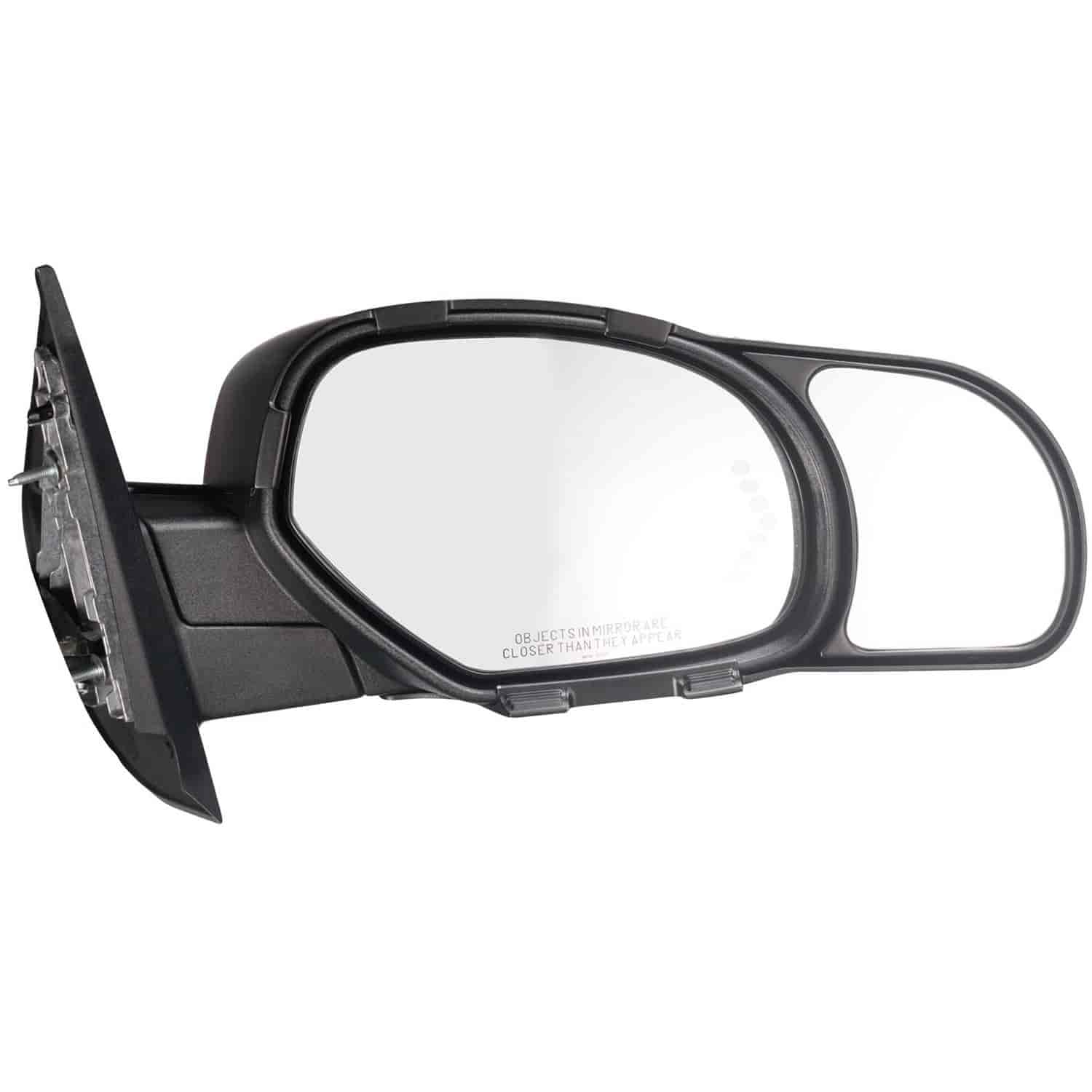 K-Source 80900 Snap-On Towing Mirrors Fits 2007 to 2013 Chevy Silverado /& GMC Si