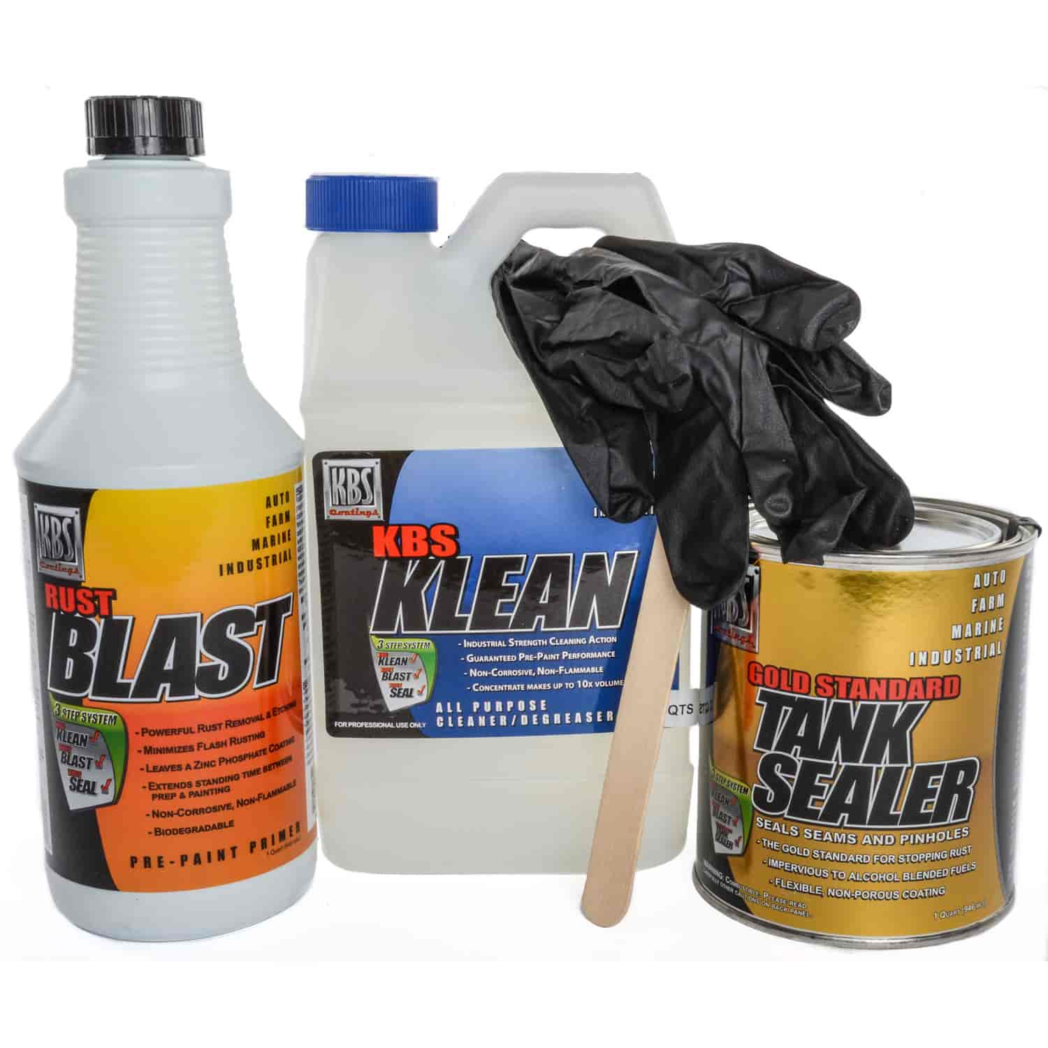 KBS Coatings 53000 - KBS Coatings Fuel Tank Sealer Kits