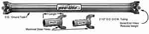 Coleman Racing Products 22401 - Coleman Pro-Lite Steel Driveshafts