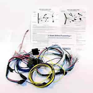 Classic Dash Wiring Harness 1982 89 Camaro