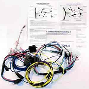 classic dash 140-69-5200 wiring harness 1968-79 nova/chevy ii a wiring harness for 1968 chevy nova wiring diagram for 1970 chevy nova