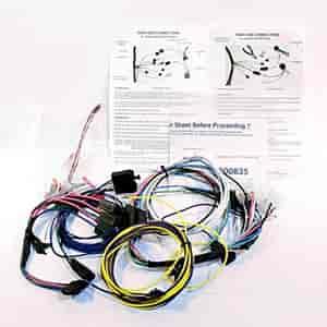 classic dash 170 78 5200 wiring harness 1978 87 el camino. Black Bedroom Furniture Sets. Home Design Ideas