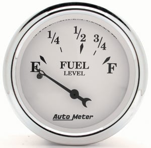 Auto Meter 1216 - Auto Meter Old Tyme White II Gauges