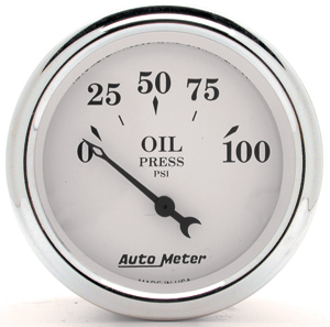 Auto Meter 1227 - Auto Meter Old Tyme White II Gauges