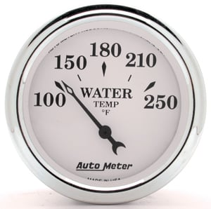 Auto Meter 1237 - Auto Meter Old Tyme White II Gauges