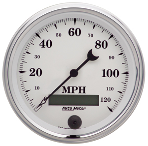 Auto Meter 1287 - Auto Meter Old Tyme White II Gauges