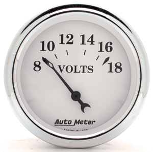 Auto Meter 1292 - Auto Meter Old Tyme White II Gauges