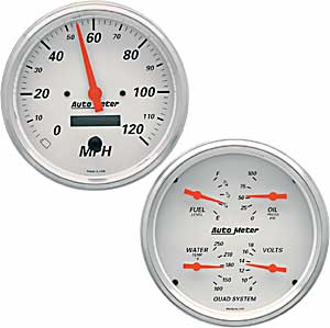 arctic white auto meter gauges wiring diagram auto meter 1303 arctic white quad gauge kit 5'' electrical ... auto meter tach wiring diagram wires
