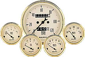 Auto Meter 1501 - Auto Meter Golden Oldies Gauges