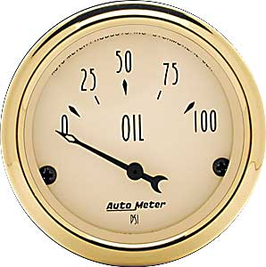 Auto Meter 1528 - Auto Meter Golden Oldies Gauges
