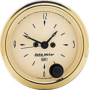 Auto Meter 1586 - Auto Meter Golden Oldies Gauges