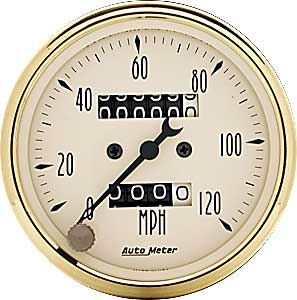 Auto Meter 1593 - Auto Meter Golden Oldies Gauges