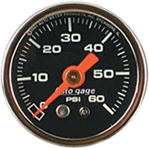 Auto Meter 2173 - Auto Meter 1-1/2'' Direct Mount Pressure Gauges