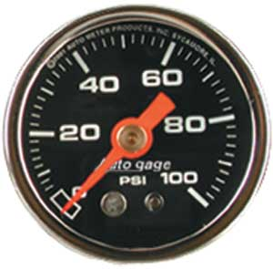 Auto Meter 2174 - Auto Meter 1-1/2'' Direct Mount Pressure Gauges