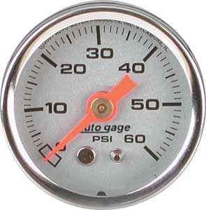 Auto Meter 2179 - Auto Meter 1-1/2'' Direct Mount Pressure Gauges
