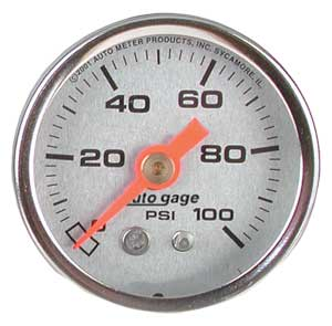 Auto Meter 2180 - Auto Meter 1-1/2'' Direct Mount Pressure Gauges
