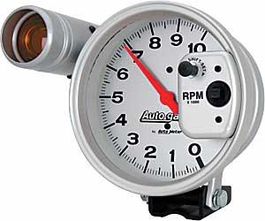 auto meter 233911 5 autogage tach 10 000 rpm shift light jegs auto meter 233911