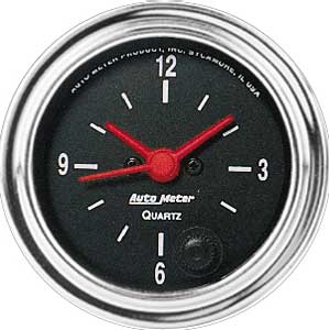 Auto Meter 2585 - Auto Meter Traditional Chrome Gauges