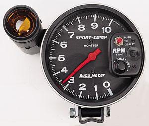 Auto Meter 3904 Sport Comp Pedestal Mount Tachometer 5