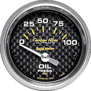 Auto Meter 4327-09000 Oil Pressure Gauge