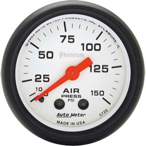 Auto Meter 5720 - Auto Meter Phantom Gauges
