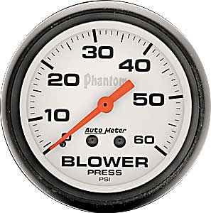 "AutoMeter 5402 Pro-Comp 2-5//8/"" Blower Pressure 0-60 PSI Mechanical"
