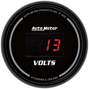Auto Meter 6393 - Auto Meter Digital Gauges