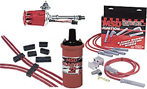 MSD Ignition Ready-to-Run Ignition Kit Small Block Chevy Includes: