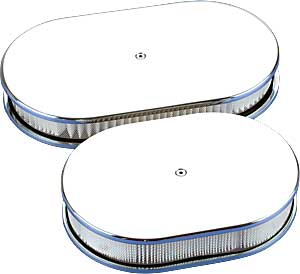 Billet Specialties 15529 - Billet Specialties Oval Air Cleaners
