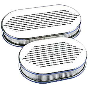 Billet Specialties 15320 - Billet Specialties Oval Air Cleaners