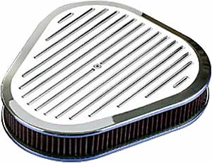 Billet Specialties 15720 - Billet Specialties Polished Air Cleaners