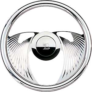 Billet Specialties 29820 - Billet Specialties 14'' Steering Wheels