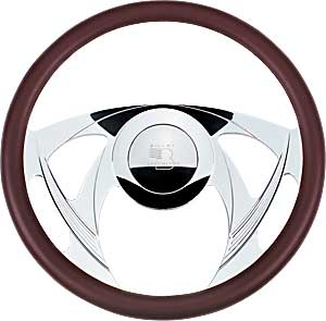 Billet Specialties 30955 - Billet Specialties 14'' Steering Wheels