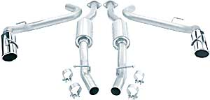 Borla 140052 - Borla Ford Car Stainless Steel Cat-Back Exhaust Systems